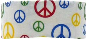 Red Lion Peace Sign Headbands