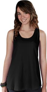 LAT Sportswear Jr Racerback Shirt Tail Tank