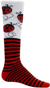 Red Lion Lady Bug Athletic Socks-Closeout