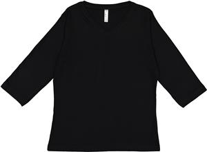 LAT Sportswear Ladies Jersey 3/4 Sleeve T-Shirt