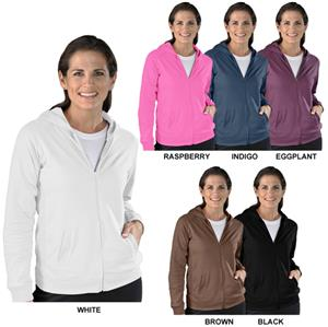 LAT Sportswear Ladies Full-Zip Hooded Jacket