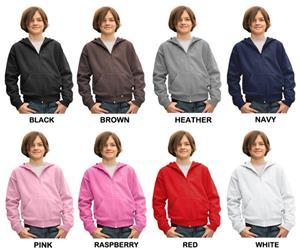 LAT Sportswear Youth Zipper Hoodie