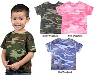 LAT Sportswear Toddler Camo T-Shirt