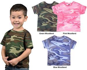 LAT Sportswear Toddler Camo T-Shirt