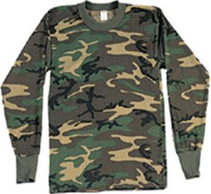 LAT Sportswear Youth Camo Long Sleeve T-Shirt