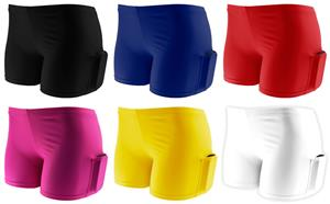 Plangea Spandex 2.5 Sport Short w/Cellphone Pocket
