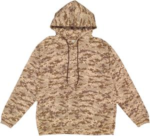 LAT Sportswear Adult Camo Pullover Hoodie