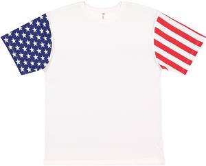 LAT Sportswear Adult Stars &amp; Stripes T-Shirt