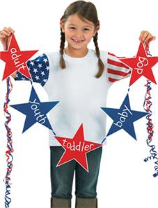 LAT Sportswear Toddler Stars and Stripes T-Shirt