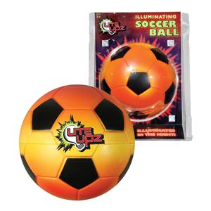 Youth Lite UPZ Illuminates Foam Soccerball