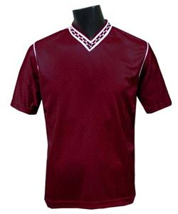 CO-Fuerza Maroon Pre Numbered/Named Soccer Jerseys