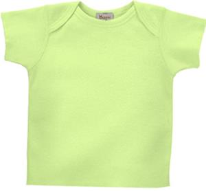 LAT Sportswear Infant Organic Lap Shoulder T-Shirt