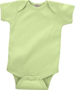 LAT Sportswear Infant Organic Baby Rib Creeper