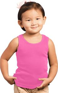 LAT Sportswear Toddler 2x1 Rib Tanks