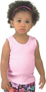 LAT Sportswear Infant 2x1 Rib Tanks