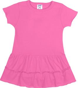 LAT Sportswear Infant Ruffle Romper Dress