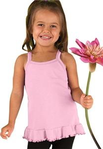 LAT Sportswear Toddler Spaghetti Strap Tunic