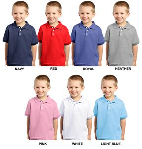 LAT Sportswear Toddler Jersey Golf Shirts