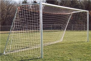 6.5x12x2x6 UNPAINTED Rd or Square Soccer Goals