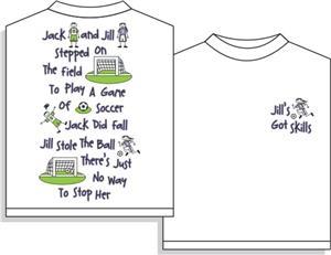 Utopia Jill Soccer Short Sleeve T-shirt