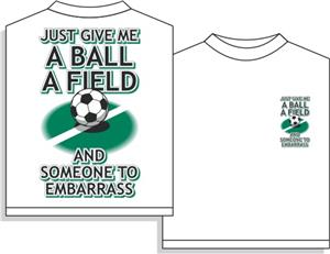 Utopia Soccer Embarass Short Sleeve T-shirt