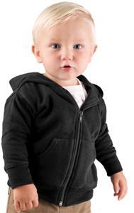 LAT Sportswear Infant Zip Front Sweatshirt Hoodie