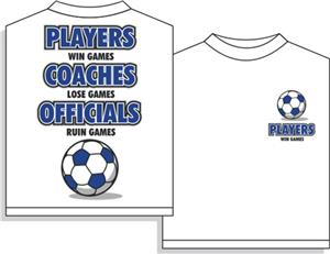 Utopia Soccer Players Win Short Sleeve Tshirt