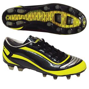 Vizari Men's Finale FG Black/Yellow Soccer Cleats