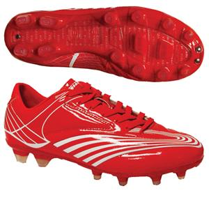 "Vizari ""Sorrento FG"" Red/White Soccer Cleats"