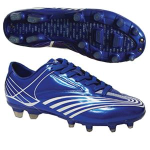 "Vizari ""Sorrento FG"" Blue/White Soccer Cleats"