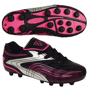 Vizari Youth Striker FG Black/Pink Soccer Cleats
