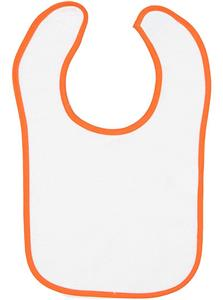 LAT Sportswear Infant Terry Snap Bib