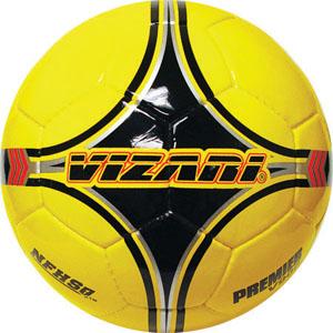 """Vizari """"Premier"""" V900 Yellow Match Balls-NFHS"""