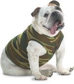LAT Sportswear Doggie Camo Tank