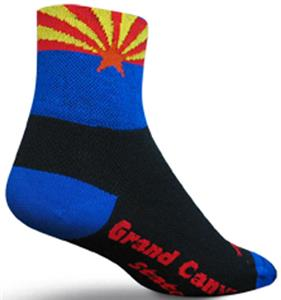Sockguy Classic Arizona Flag Socks