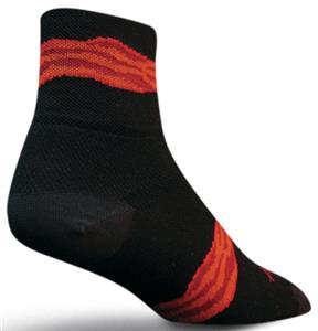 Sockguy Classic Bacon Strip Socks