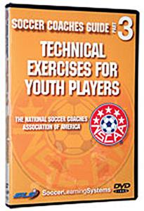 Technical Exercises For Youth Soccer Players (DVD)
