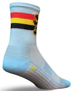 Sockguy Classic Belgium 5&quot; Socks