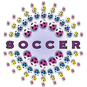 Soccer Multi-Colored Ball soccer tshirts gifts