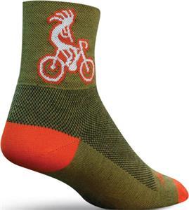 Sockguy Classic Kokopelli Socks