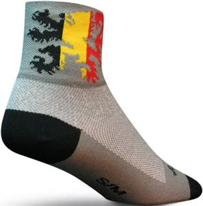 Sockguy Classic Lion of Flanders Socks