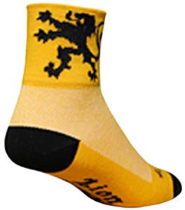 Sockguy Classic Lion of Flanders Socks