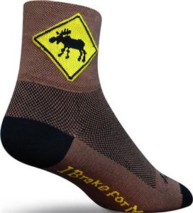 Sockguy Classic Moose Socks