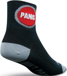 Sockguy Classic Panic Button Socks