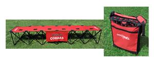 Coolseatz 6 Seater Soccer Portable Player Bench