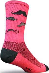 Sockguy Mustache Crew Socks