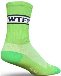 Sockguy WTF Crew Socks