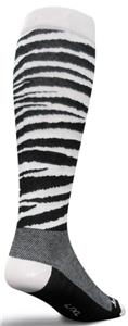 Sockguy Zebra Knee-Hi Socks