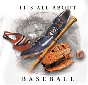 All About Baseball tshirts