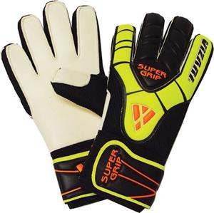 Vizari Black Pro Super Grip Soccer Goalie Gloves